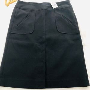 NWT Banana Republic Black Skirt